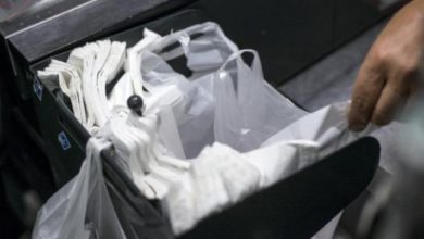 Open war against plastic bags in France!