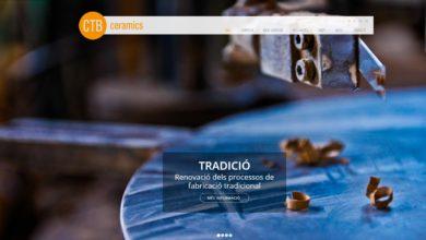 Nova pàgina web CTB Ceramics!!!